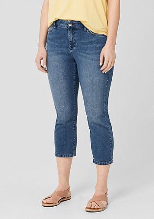 Curvy Slim Leg: Denim in 7/8-Länge