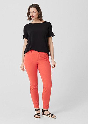Curvy Extra Slim Leg: Stretchhose
