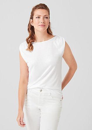 Jerseyshirt mit Glitzer
