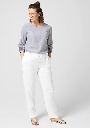 Poletne lanene hlače