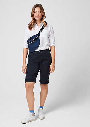 Curvy: lightweight Bermudas from s.Oliver