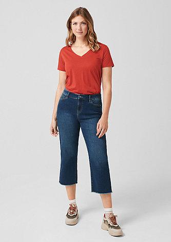 Curvy Straight Leg: 7/8-Culotte