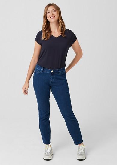 Curvy Slim Leg: strečové džíny