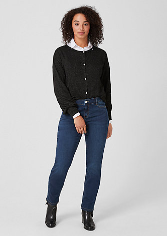 Basic Slim Leg: Stretchjeans