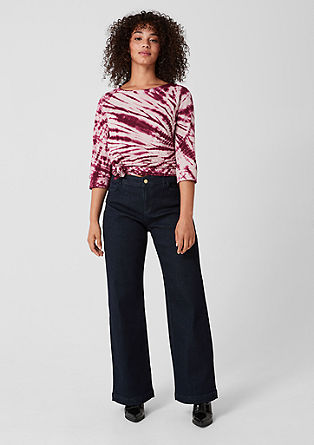 Curvy Wide Leg: Dark Denim