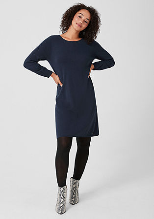 Knit dress with a percentage of cashmere from s.Oliver