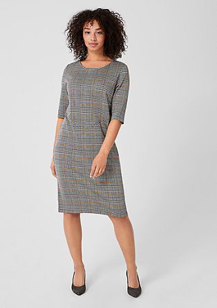 Elegant jacquard dress from s.Oliver