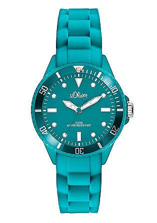 Sportive Armbanduhr mit Silikonband