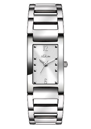 Uhr mit farbigem Zifferblatt