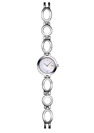 Uhr mit formschönem Gliederband