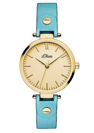 Uhr mit puristischem Ziffernblatt