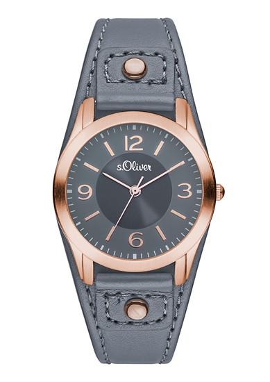Horloge met breed bandje
