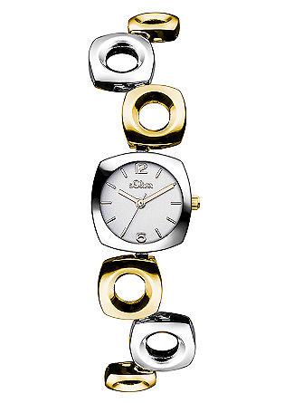 Armbanduhr mit versetzten Gliedern