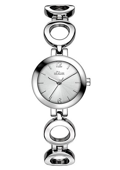 Horloge met schakelbandje
