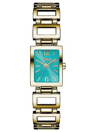 Horloge met rechthoekige schakels