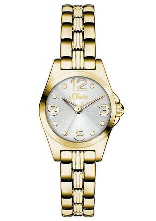 Kleine, glänzende Armbanduhr