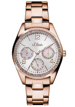 Multifunctioneel horloge met siersteentjes