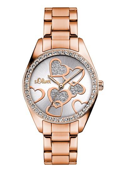 Graveerbaar horloge met glitter