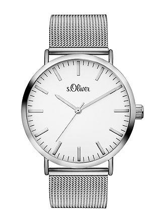 Horloge met milanaise bandje