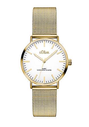 Klassiek horloge met milanaise bandje