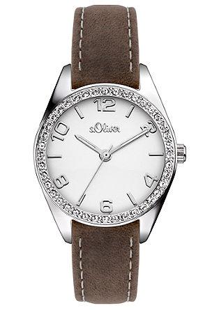 Armbanduhr mit Zirkonia