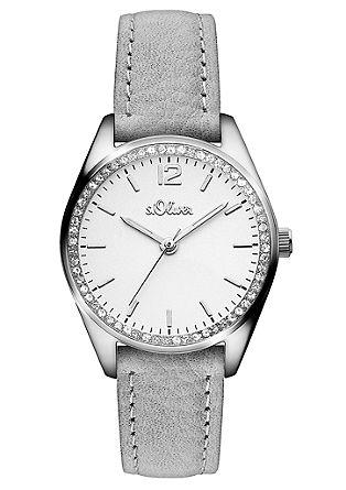 Horloge met zirkonia