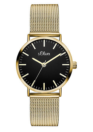 Klassiek horloge met Milanese bandje
