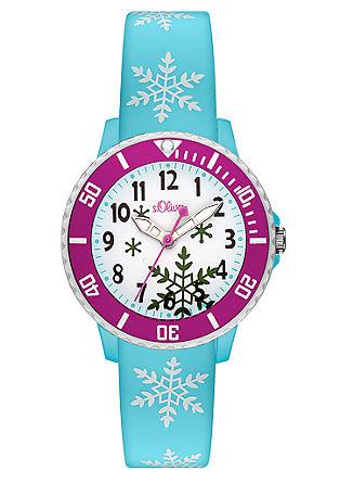 Horloge voor kids met silicone bandje