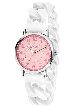 Horloge met siliconen bandje