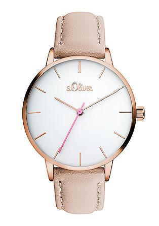 Armbanduhr im cleanen Look