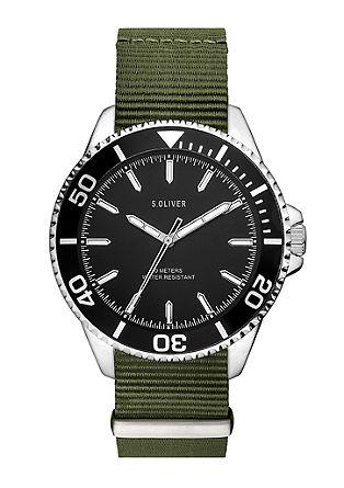 Horloge met nylon bandje