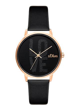 Armbanduhr mit Love-Motiv