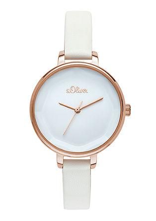 Armbanduhr im schlichten Design