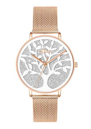 Armbanduhr mit Lebensbaum-Motiv