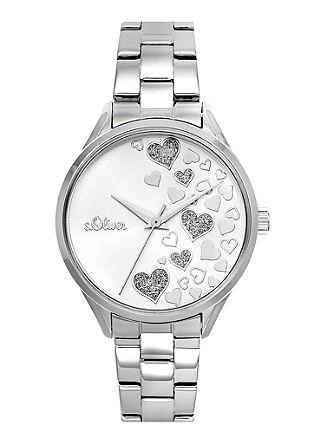 Armbanduhr mit Herz-Motiv