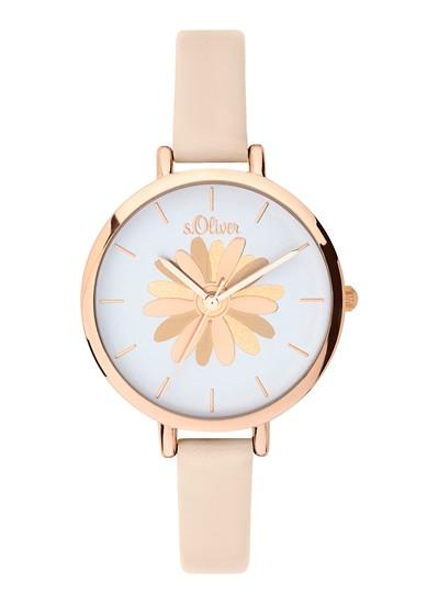 Horloge met sierlijke wijzerplaat