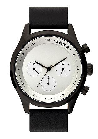 Uhr mit Lederarmband