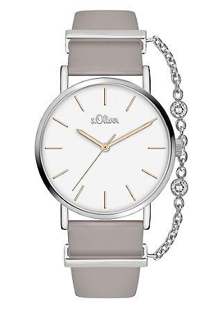 Horloge met kettingdetail