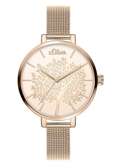 Armbanduhr mit Glitzer-Motiv