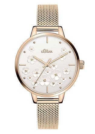 Armbanduhr mit Schmuck-Motiv