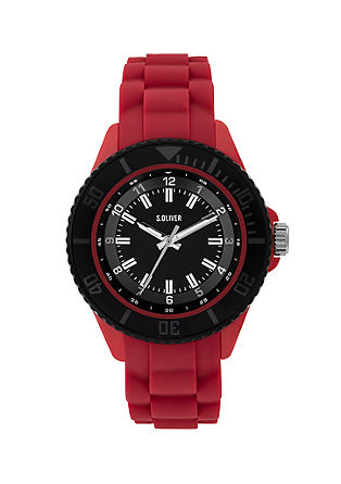 Uhr mit Silikonband
