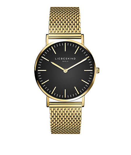 Armbanduhr mit Edelstahlarmband