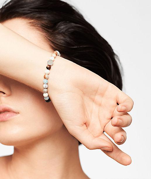 6mm Beads mit Logotag
