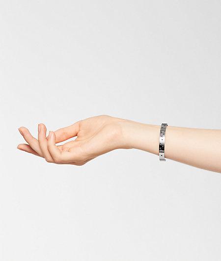Armspange Cut out aus Edelstahl