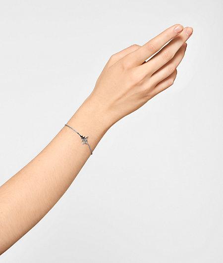 Heartbeat Bracelet aus Edelstahl
