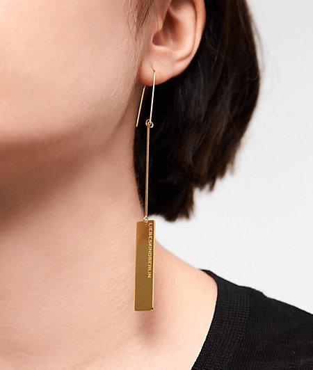 Ohrhänger Logo Tag