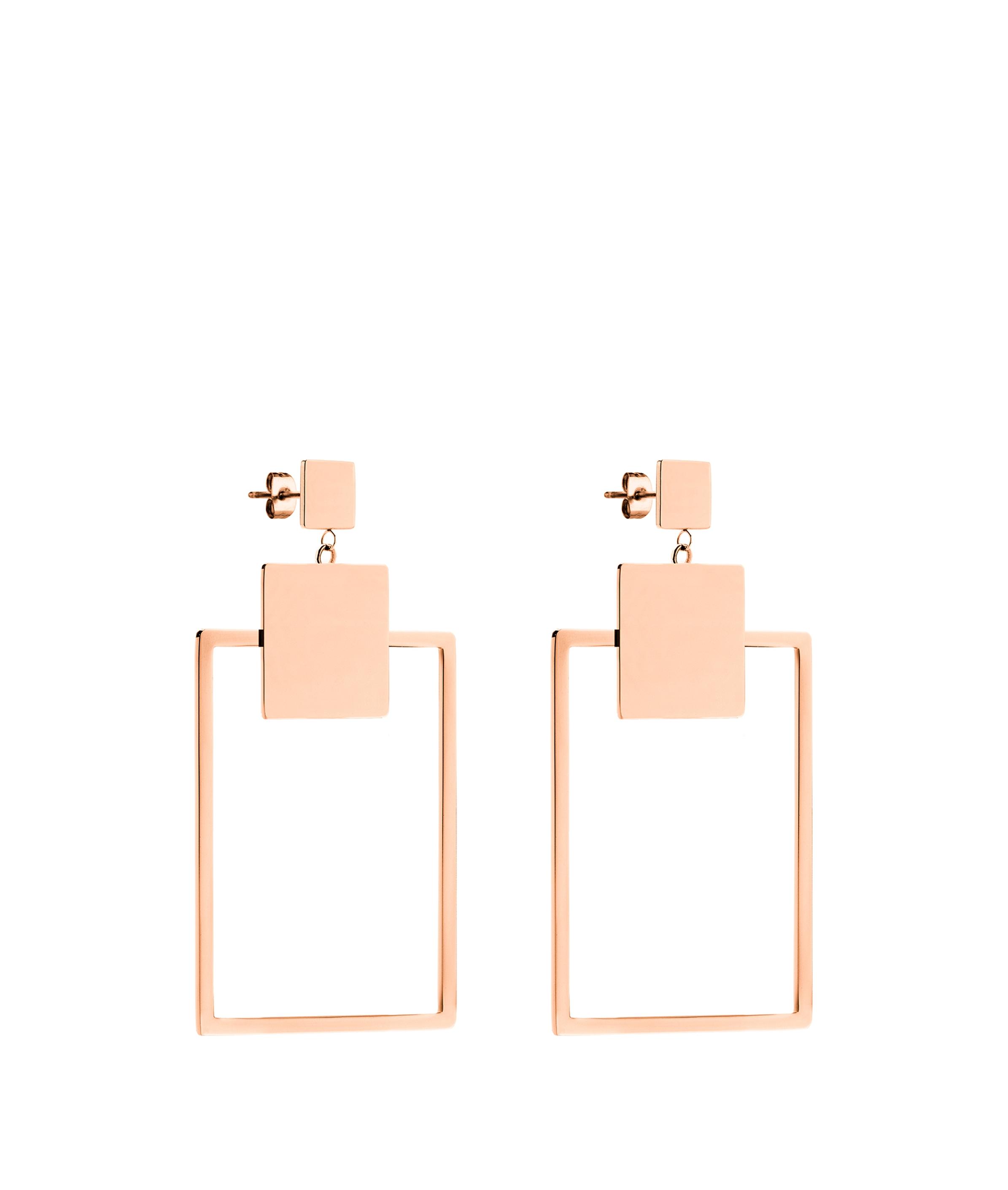 liebeskind berlin - Ohrringe in geometrischem Design, Pink, Größe -