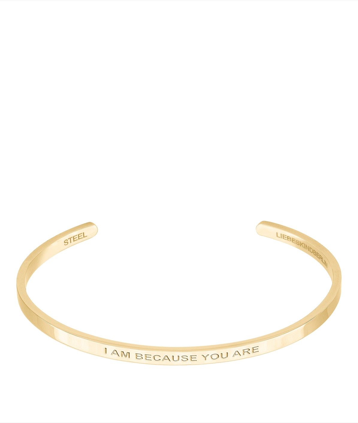Bangle mit Statement-Gravur