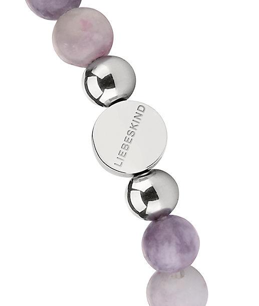 8mm Beads mit Logotag