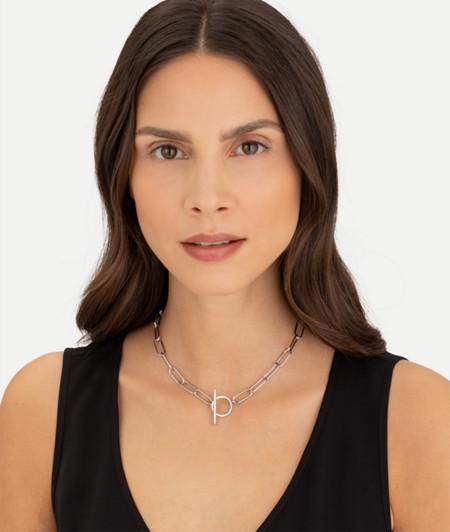 Choker mit Knebelverschluss